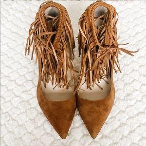 Zara Women's Fringe Heel